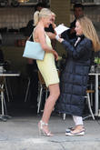 celebrities on the set of the other woman 070513