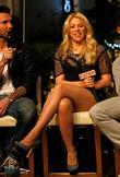 Adam Levine and Shakira