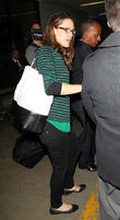 celebrities arrive at los angeles international air 070513