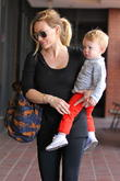 hilary duff takes her son luca to babies first clas 080513