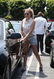 Teresa Palmer leaving Fred Segal