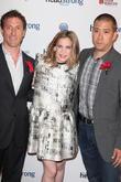 Zach Iscol, Anna Chlumsky, Shaun So (husband), IAC HQ 555 west 18th Street NYC