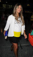 celebs arriving for the beyonce concert 090513
