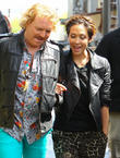Myleene Klass, Keith Lemon and Leigh Francis