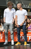 Jay McGuiness and Max George