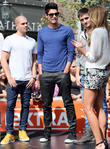 Max George, Siva Kaneswaran, Tom Parker and Renee Bargh