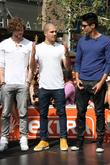 Jay McGuiness, Max George, Siva Kaneswaran and The Wanted