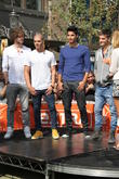Jay McGuiness, Max George, Siva Kaneswaran, Tom Parker, The Wanted and Renee Bargh