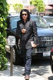 gene simmons arrives at the ivy 100513