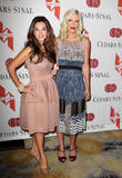 Lea Porter and Tori Spelling