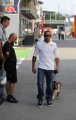 Lewis Hamilton and Roscoe