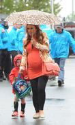 Coleen Rooney and Kai Rooney