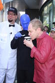 Penn Jillette, Teller and Blue Man Group