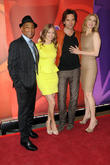 Tracy Spiridakos, Billy Burke, Giancarlo Esposito and Elizabeth Mitchell