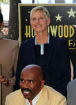 Ellen Degeneres and Steve Harvey
