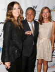 Rita Wilson, Jim Gianopulos and Guest