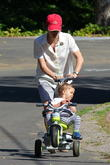selma blair and son go for a walk 140513