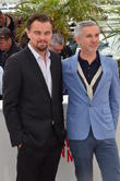 Leo Di Caprio and Baz Luhrmann
