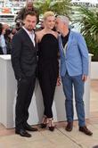 Leo Di Caprio, Carey Mulligan and Baz Luhrmann