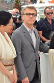 Christoph Waltz at Cannes Film Festival