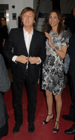 Sir Paul McCartney, Nancy Shevell, BAFTA