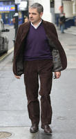 rowan atkinson leaving the royal theatre 150513