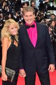 David Hasselhoff, Hayley Roberts, Cannes Film Festival