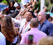 will smith and jaden smith attend after earth day 160513