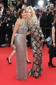 Aimee Mullins and Freida Pinto
