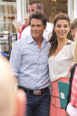 Rob Lowe and Maria Menounos