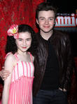 Lilla Crawford and Chris Colfer