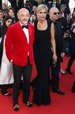 Christian Louboutin and Melita Toscan du Plantier
