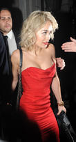 Rita Ora and Calvin Harris At Nobu