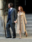 the cast of american hustle filming scenes 170513