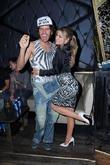 Perez Hilton and Carmen Electra