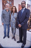 Donna Karan, Philippe Dodard and Francois Guilaume