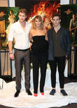 Liam Hemsworth, Jennifer Lawrence, Sam Claflin, Cannes Film Festival
