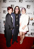 Sharon Osbourne, Ozzy Osbourne and Kelly Osbourne
