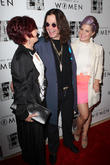 Kelly Osbourne, Ozzy Osbourne and Sharon Osbourne