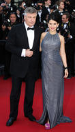 Alec Baldwin, Hilaria Thomas, uk, Cannes Film Festival