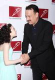 Lilla Crawford and Tom Hanks