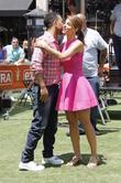 John Legend and Maria Menounos