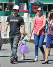 mark wahlberg and his wife take their daughter to d 210513