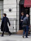 Benedict Cumberbatch and Martin Freeman