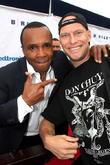 Sugar Ray Leonard and Travis Jourdain