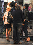 Russell Brand and Sheridan Smith on night out in Soho