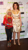 Betsey Johnson and Sandra Bernhard