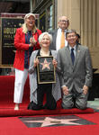 Diane Ladd, Olympia Dukakis, Ed Asner, Leron Gubler, On The Hollywood Walk Of Fame