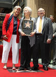 Diane Ladd, Olympia Dukakis, Ed Asner, On The Hollywood Walk Of Fame