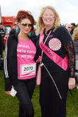 Amy Childs attends the Race for Life